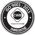 Grondin Excavation certifié Organisation internationale de normalisation