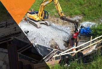 En savoir plus sur le service de travaux complexes de Grondin Excavation